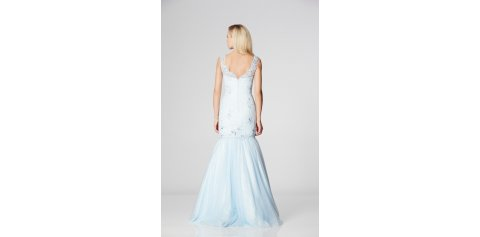 Zeena - Pale Blue - Back