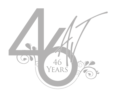 Allison Jayne 45th Anniversary logo