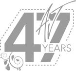 Allison Jayne 47 Years Logo